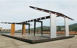 Installée sur le toit LINGOTTO à la « PINACOTECA AGNELLI »