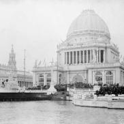 Administration building designed by Richard Morris Hunt, World's Columbian Exposition, Chicago, 1893