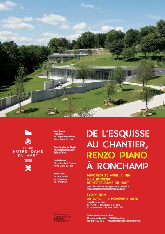 Affiche - Vernissage-Renzo Piano