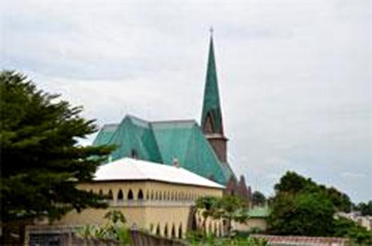 Basilique Sainte-Anne Brazzaville, République du Congo
