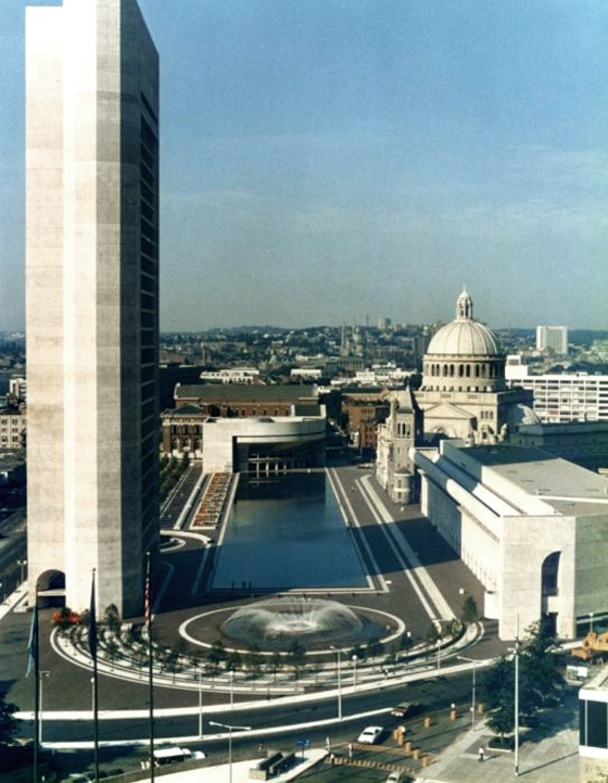 Le Christian Science Complex à Boston
