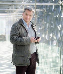 Léopold Lombard, directeur des relations avec l'architecture au sein de Lafarge.