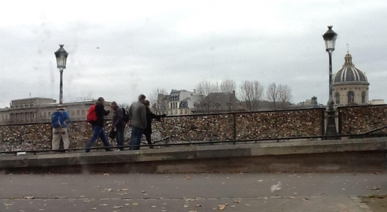 photo du pont des Arts