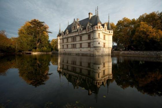 Château d'Azay-le-Rideau Photo © CMN