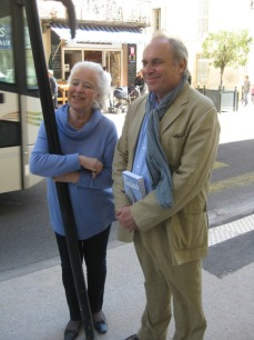 Michèle le Menestrel Ullrich with Antoine Bruguerolle Photo RMHP